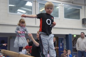 SSG Birthday Party - Balance Beam